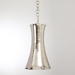 Studio A Home Trumpet 1-Light Novelty Pendant