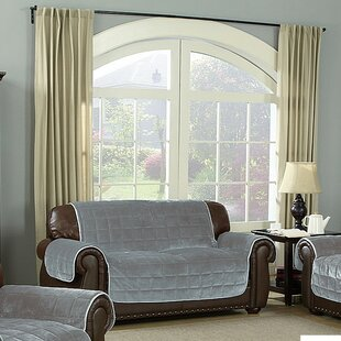 Water Resistant Box Cushion Loveseat Slipcover