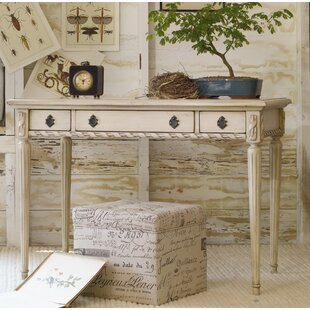 Melange Solid Wood Writing Desk by Hooker Furniture