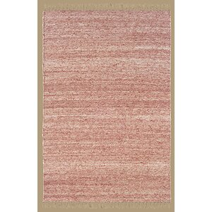 Landenberg Hand-Woven Red Area Rug