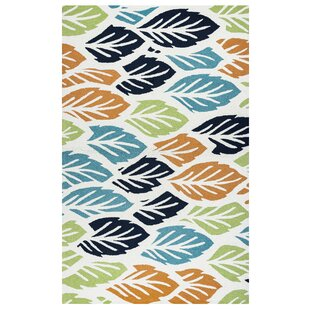 Evangeline Hand-Tufted Floral and Plant Indoor/Outdoor Area Rug