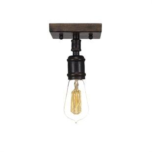 Davidson 1-Light Semi Flush Mount by Trent Austin Design