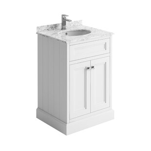 Noelle 600mm Free-standing Single Vanity Unit By August Grove