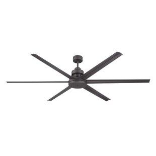 Modern contemporary ceiling fan without light allmodern 72 aube 6 blade ceiling fan aloadofball Images