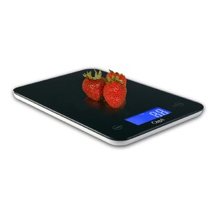 Touch Professional Digital Kitchen Scale (18 lbs Edition), Tempered Glass