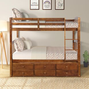 Mccutchen Twin over Twin Loft Bed