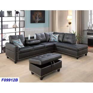 Charlton Home Schwindt Sectional with Ott..