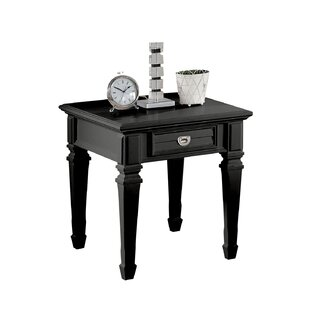 Alcott Hill Jurgensen 1-Drawer End Table with Storage