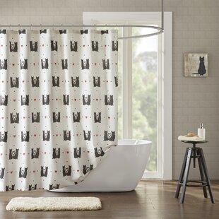 Cervantez Printed 100% Cotton Shower Curtain by East Urban Home