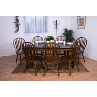 Lozano 9 Piece Dining Set DarHome Co