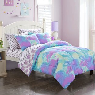 Picard Tie Dye Cloud Reversible Comforter Set
