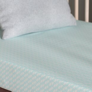 Compare Fleeting Flora Fitted Crib Sheet Bybabyletto
