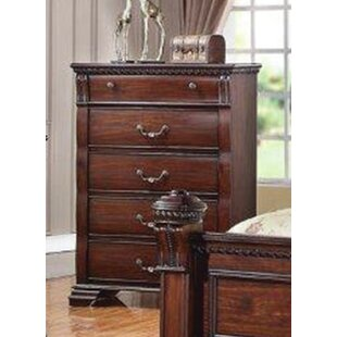 Compare Montana 5 Drawer Chest by Charlton Home