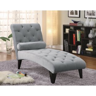 Red Barrel Studio Dhamala Fashionably Button Tufted Chaise Lounge