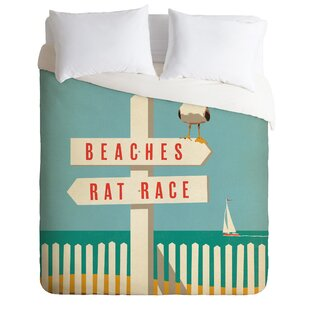 Sign Post Duvet Cover Set by East Urban Home