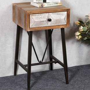 Affordable Medfield End Table with Storage By Union Rustic