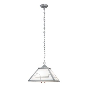 Meyda Tiffany Revival Deco 2-Light Dome Pendant