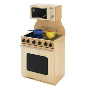 Compare prices Stove and Microwave Combo Kitchen Set ByChildcraft
