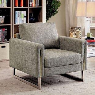 Hesperus Armchair With Chrome Leg