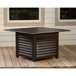 Fire Sense Palmetto Aluminum Propane Fire Pit Table
