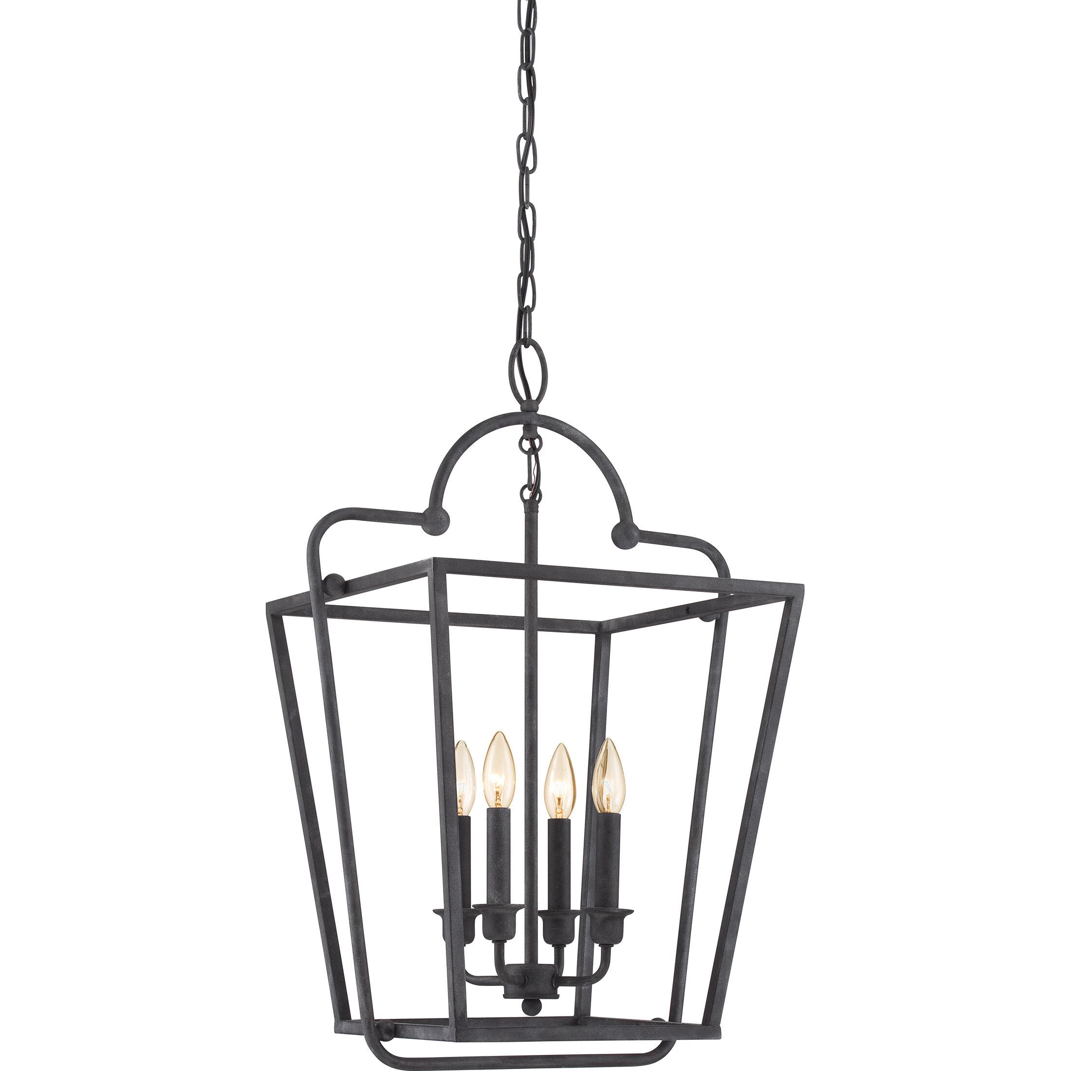 white foyer pendant lighting candle. Laurel Foundry Modern Farmhouse Celina 4-Light Foyer Pendant \u0026 Reviews | Wayfair White Lighting Candle D
