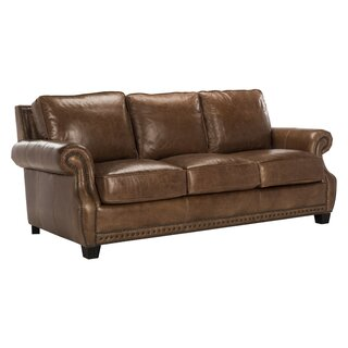 Arecibo Leather Sofa by Charlton Home SKU:DB783702 Description