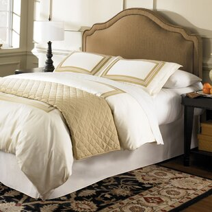 Versailles Upholstered Panel Headboard by Darby Home Co