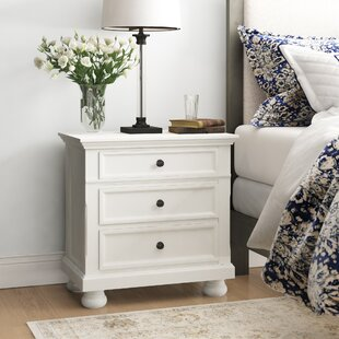 Ulverst 3 Drawer Nightstand by Charlton Home