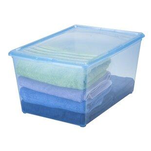 62 Quart Plastic Storage Tote (Set Of 8)
