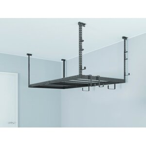 VersaRac Set with 1 Overhead Rack and 10 Piece Accessory Kit