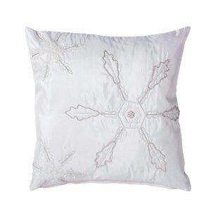 Beaded Snowflake Pillow Wayfair
