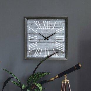 Rustic Wall Clock by Nielsen Bainbridge