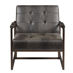 Cateline Faux Leather Armchair