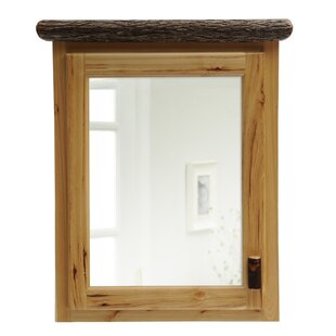 Looking for Hickory 33 x 32 Surface Mounted Medicine Cabinet By Fireside Lodge