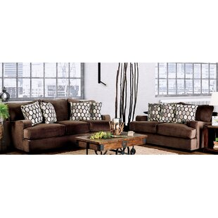 Brayden Studio Barcomb 2 Piece Living Room Set