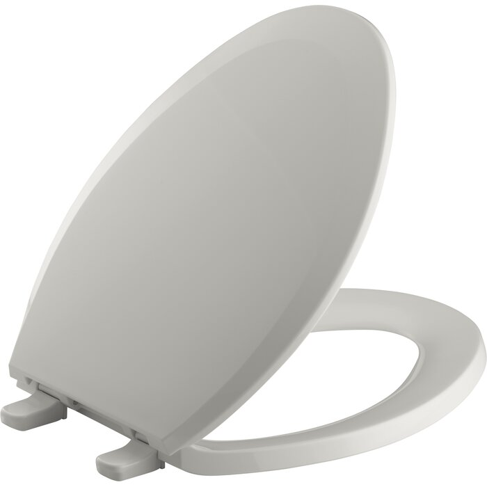 Kohler Toilet Seat Hinge.Kohler Lustra With Quick Release Hinges Elongated Toilet Seat