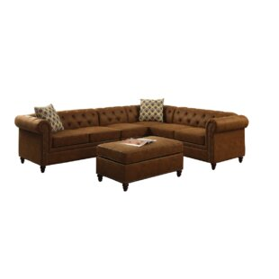 Larue Sectional with Ottoman