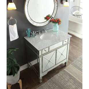 Sandstrom 36 Single Bathroom Vanity Set with Mirror by House of Hampton