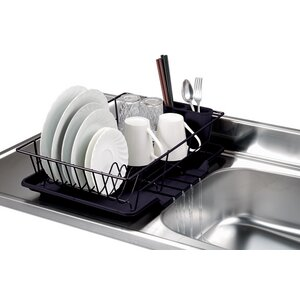 3 Piece Dish Rack with Tray