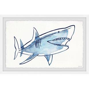 Blue Shark Wall Art You Ll Love In 2021 Wayfair