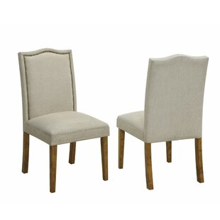 Ber Upholstered Dining Chair (Set of 2) House of Hampton
