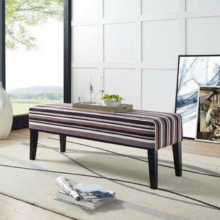 Ebern Designs Abeale Upholstered Bench