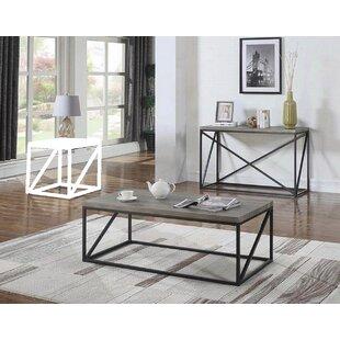 Gracie Oaks Tobey 2 Piece Coffee Table Set