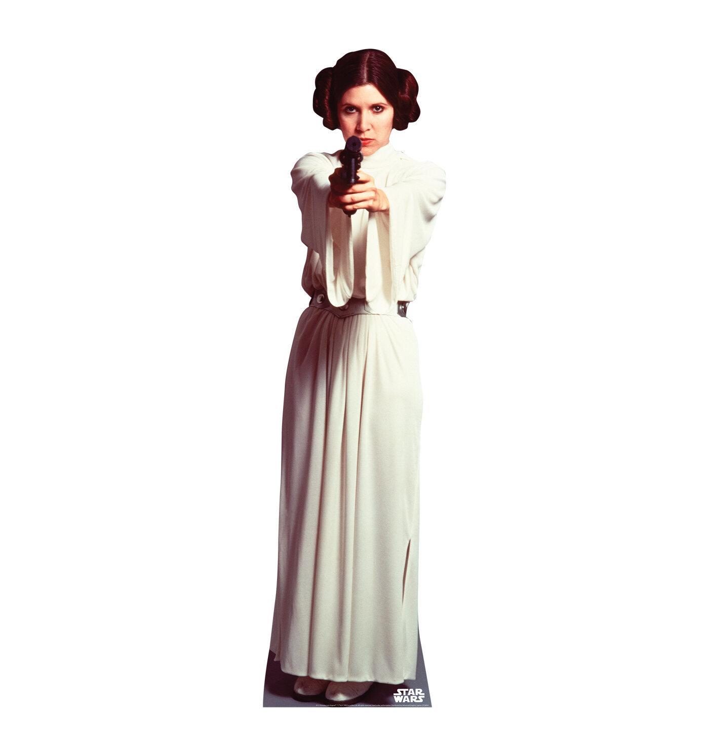 Advanced Graphics Star Wars Princess Leia Organa Life Size