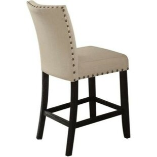 Barter Counter Height Upholstered Dining Chair (Set of 2) Charlton Home