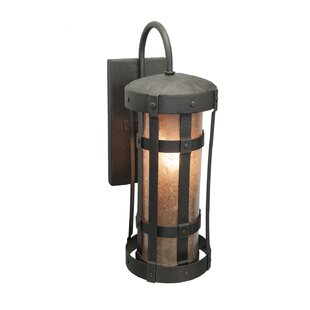 Saffo Outdoor Sconce by Loon Peak