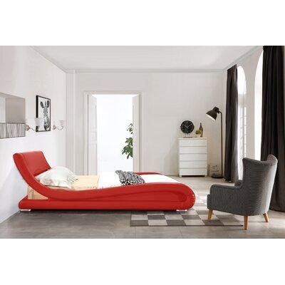 Leavitt Upholstered Platform Bed Wade Logan