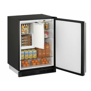 1000 Series Reversible Stainless Steel 24-inch 4.2 cu. ft. Undercounter Refrigeration with Freezer