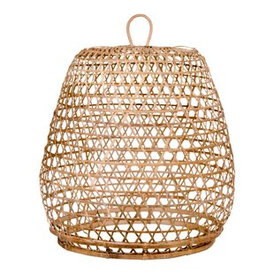 Rattan lampshade wayfair montpelier 40cm rattan lamp shade aloadofball Choice Image
