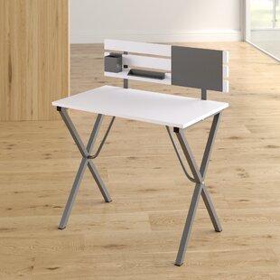 Shivdas Writing Desk with Hutch by Ebern Designs